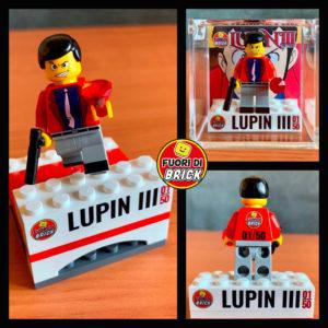 Minifigure Lupin III - Giacca rossa
