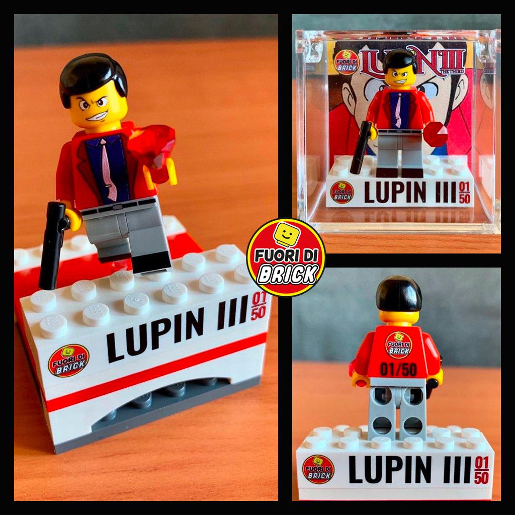 Lupin III Giacca rossa | Minifigure Lego | Fuori di Brick