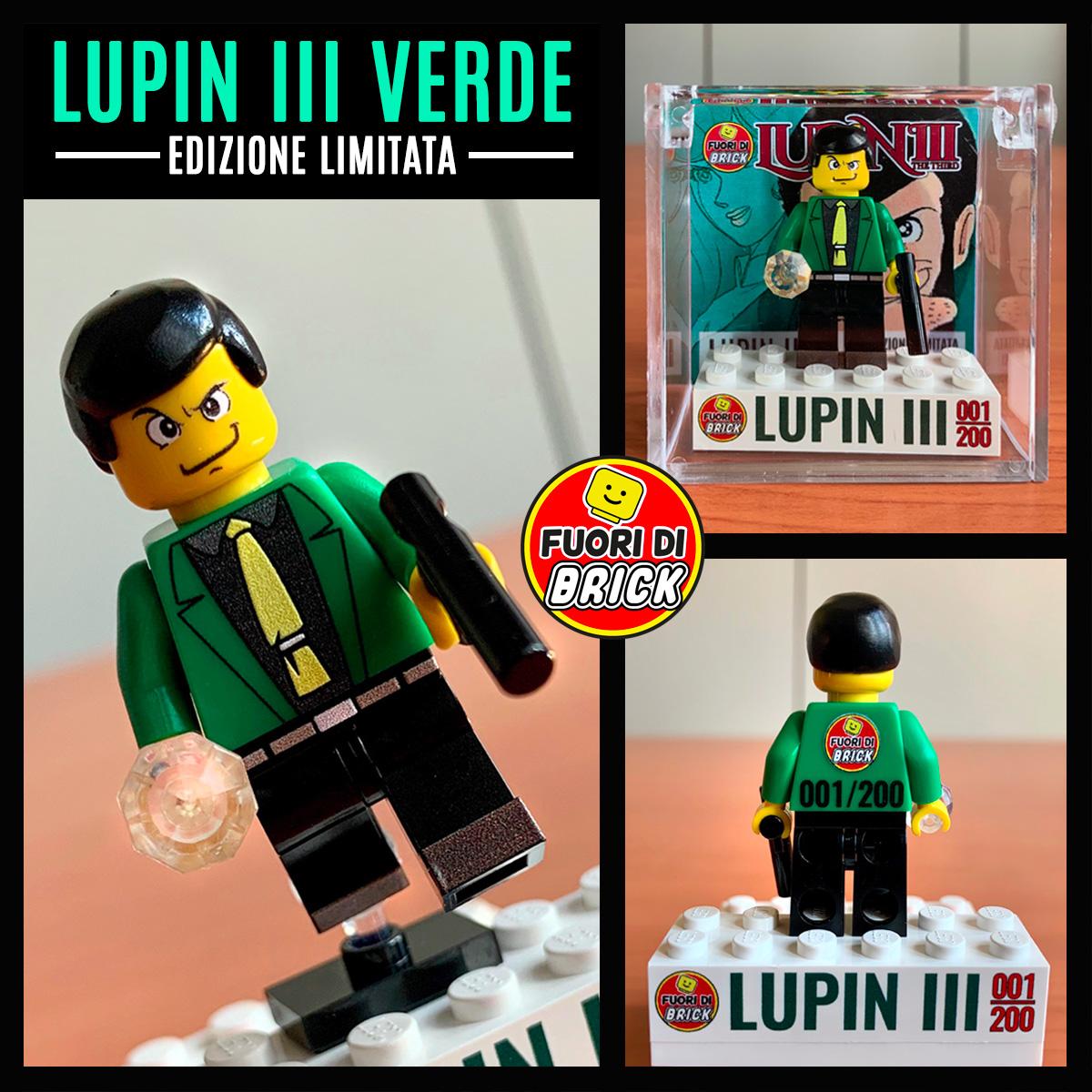 Lupin III | Minifigure Lego | Fuori di Brick