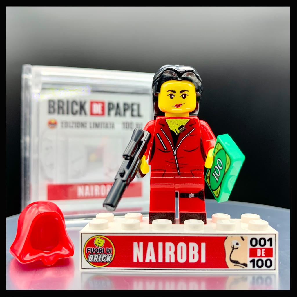 Nairobi | Minifigure Lego | Fuori di Brick