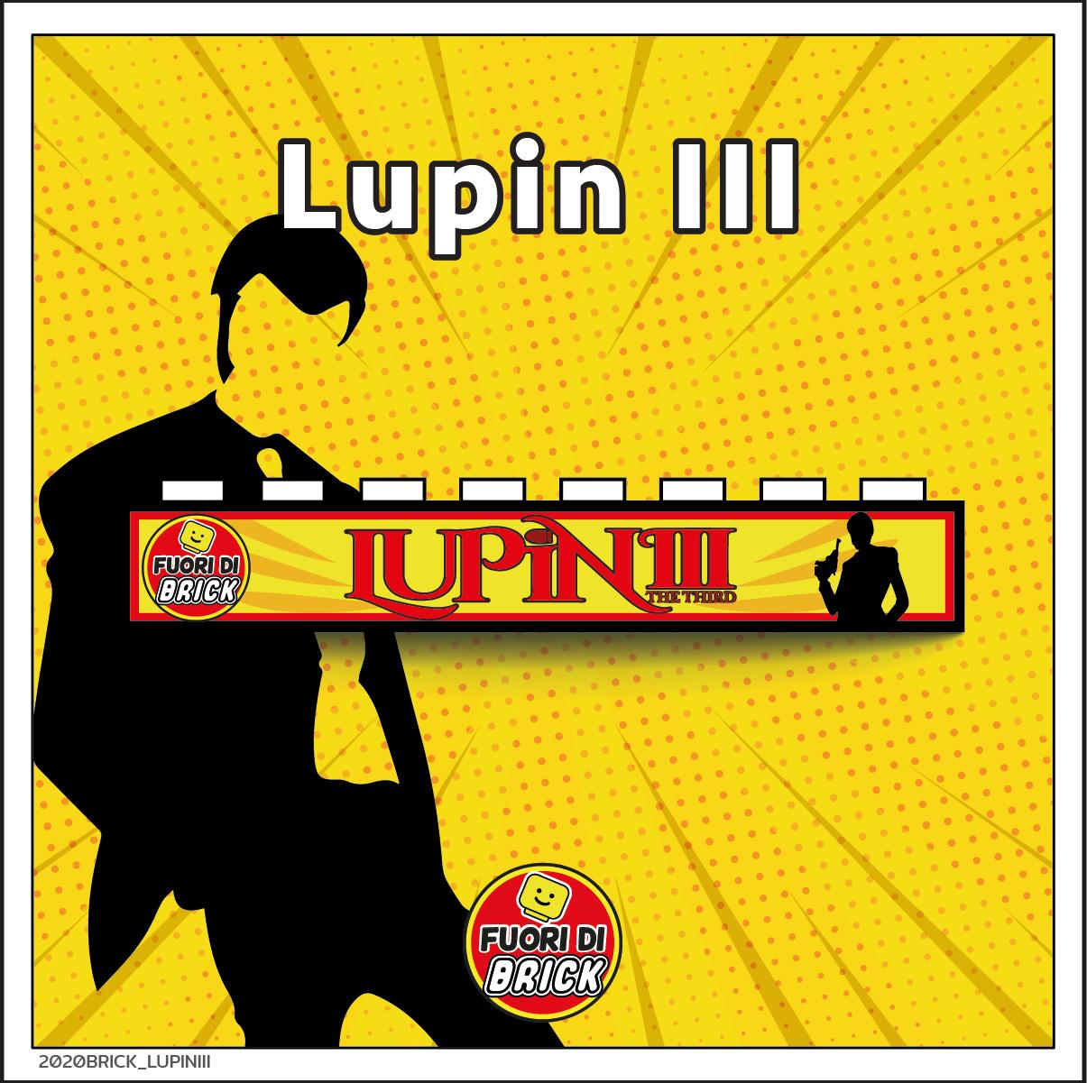 BRICK 1X8_LUPIN III
