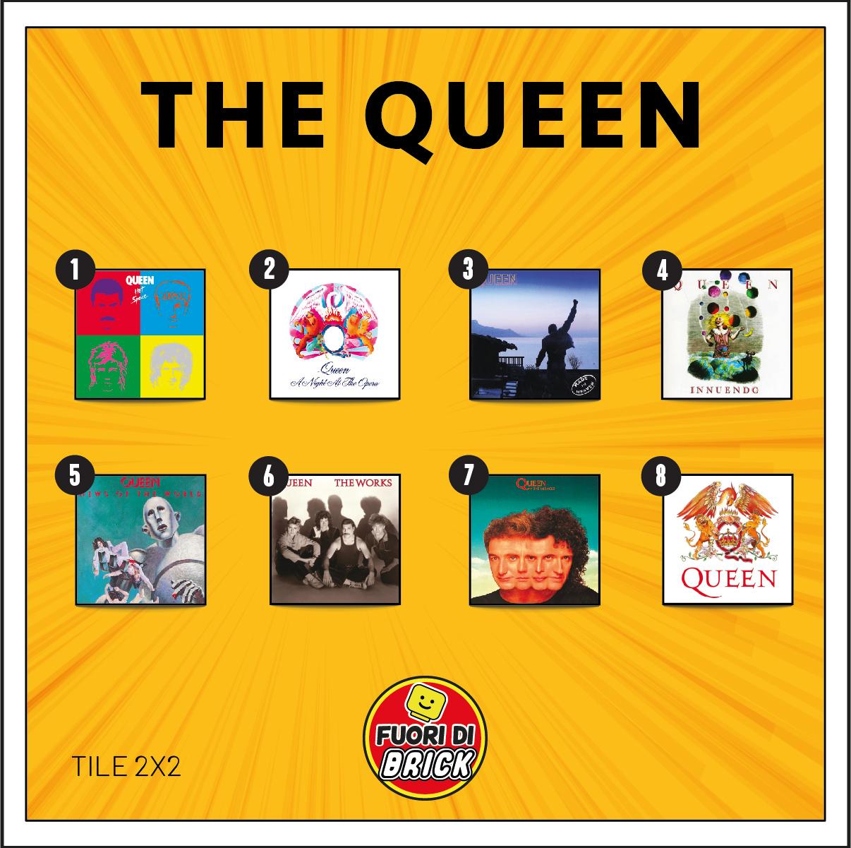 TILE 2X2_THE QUEEN'S ALBUM