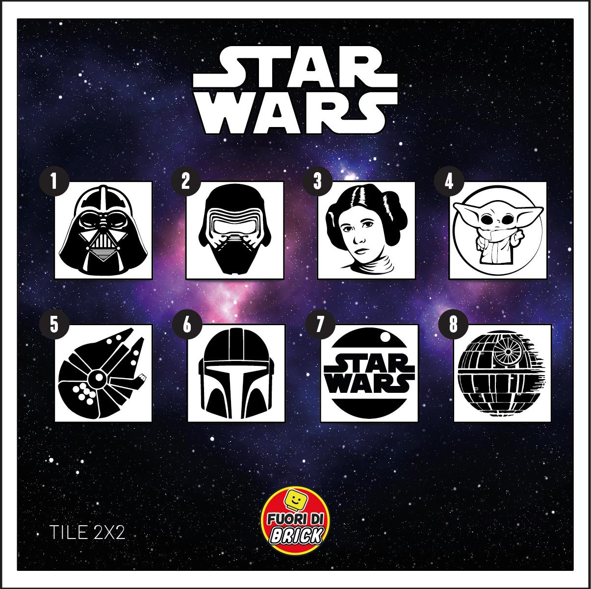 TILE 2X2_STAR WARS