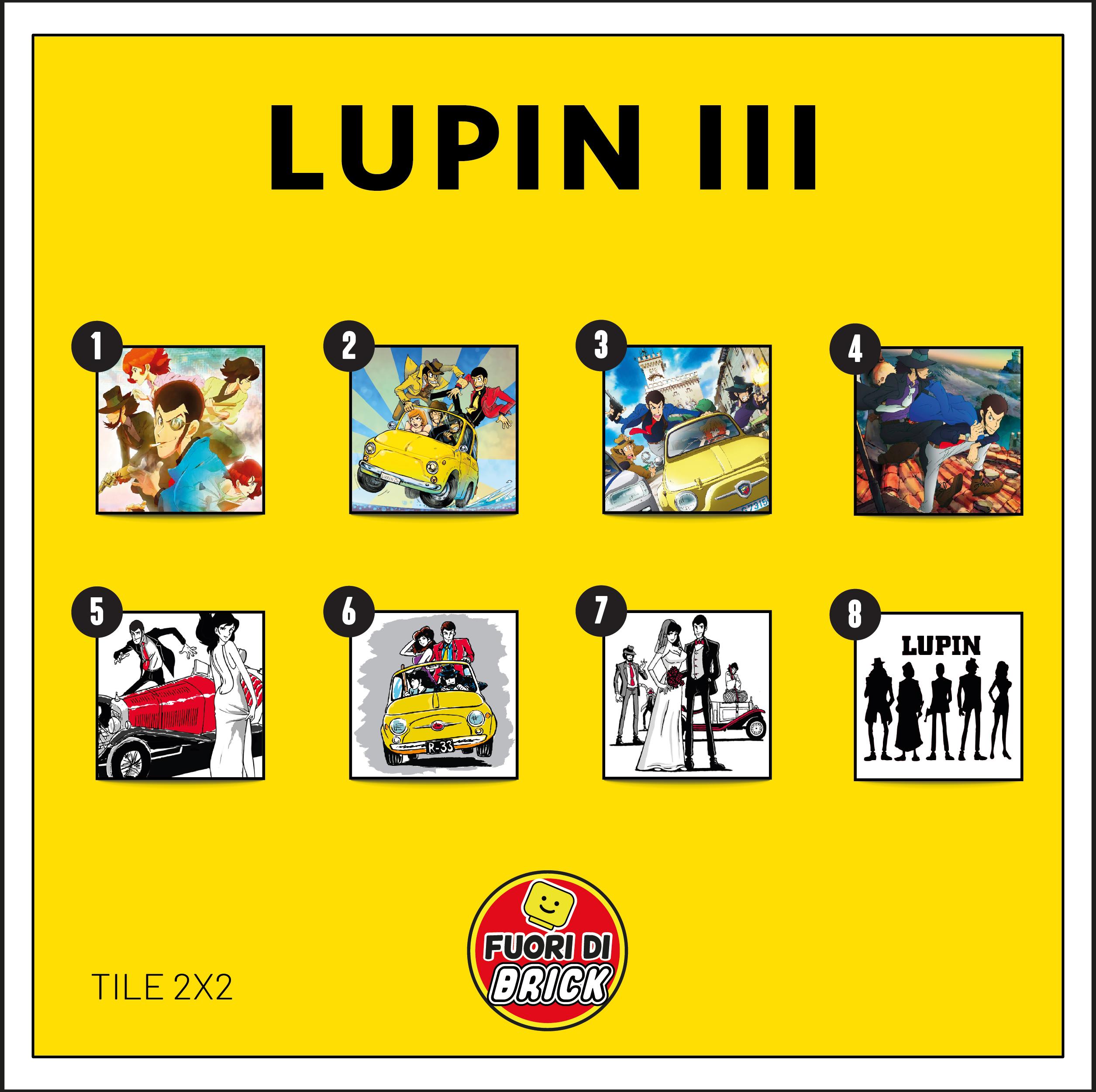 TILE 2X2_LUPIN III