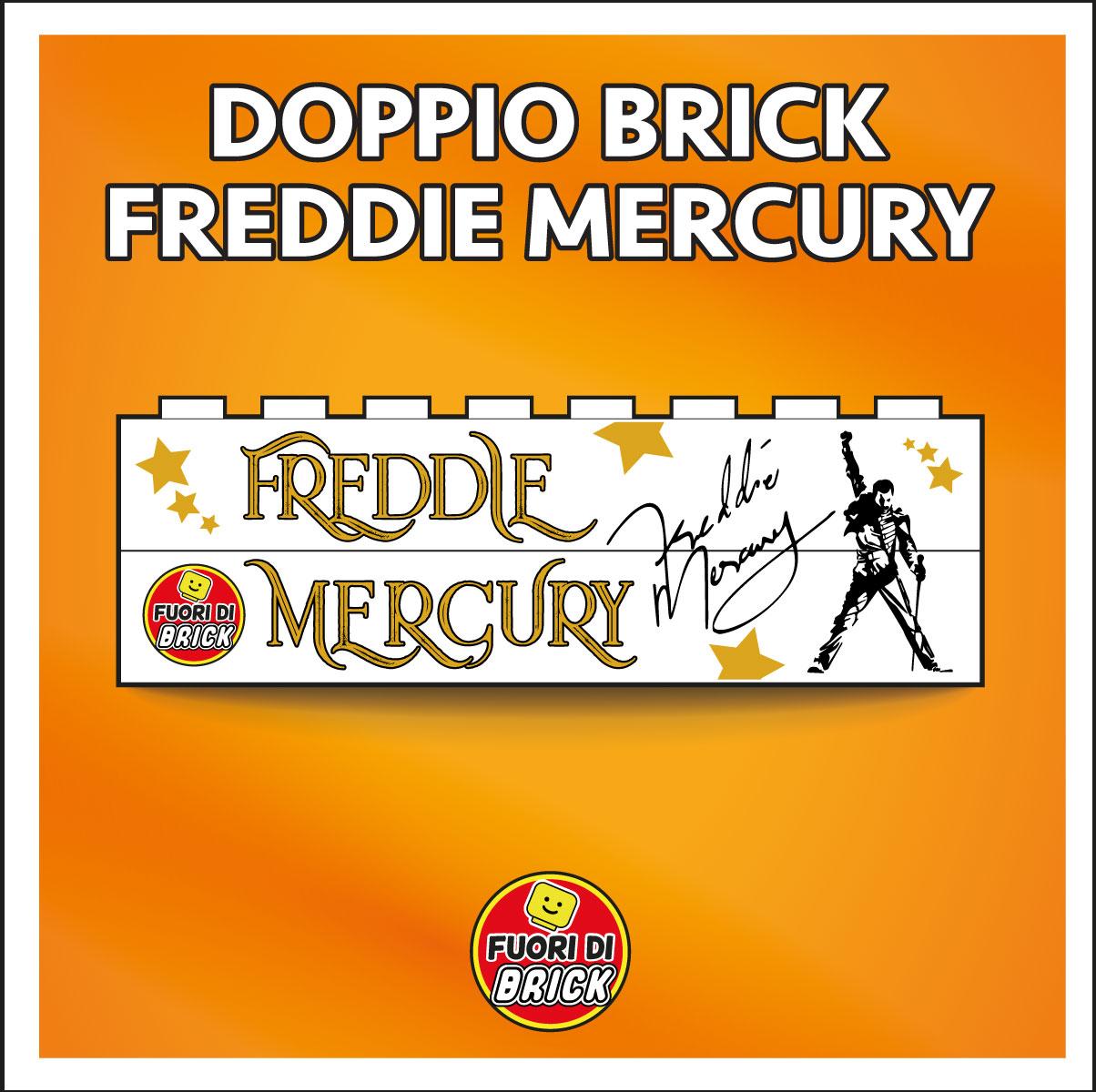 DOPPIO BRICK 1X8_FREDDIE MERCURY