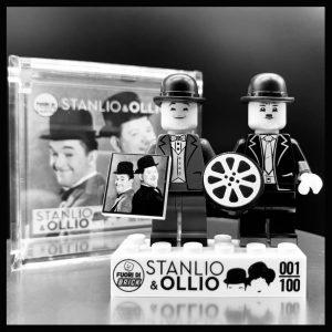 Stanlio e Ollio | Minifigure | Fuori di Brick
