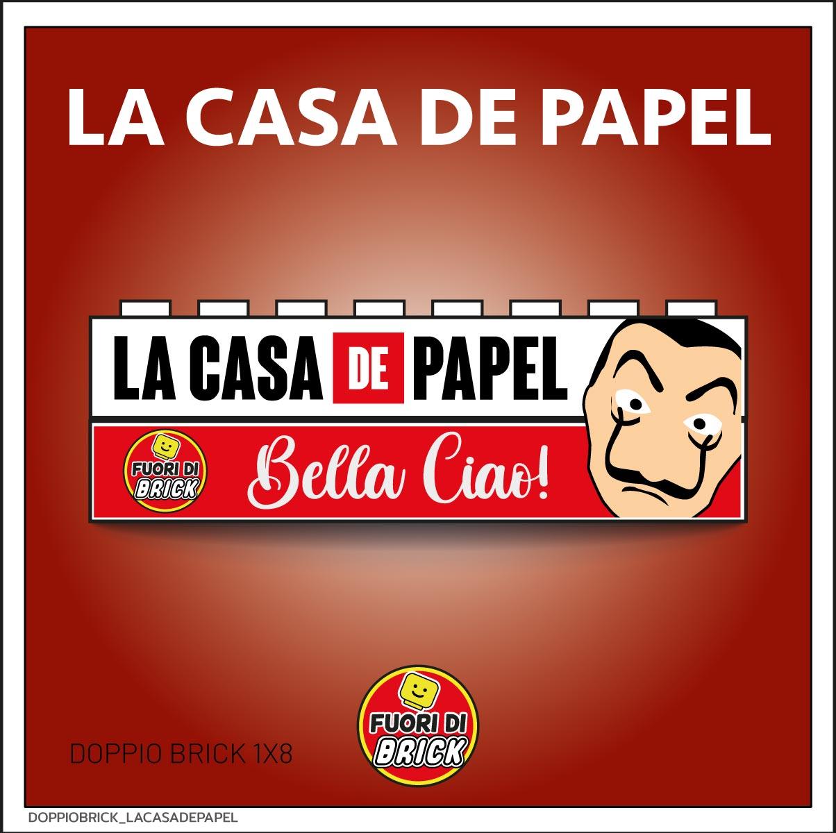 DOPPIO BRICK 1X8_LA CASA DE PAPEL