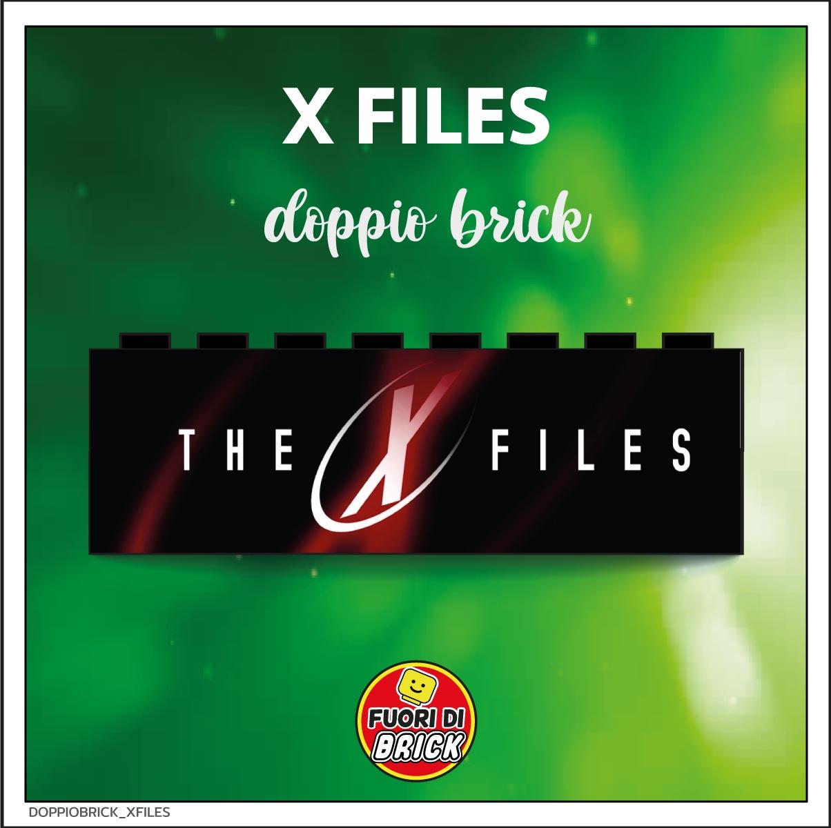 DOPPIO BRICK 1X8_X FILES