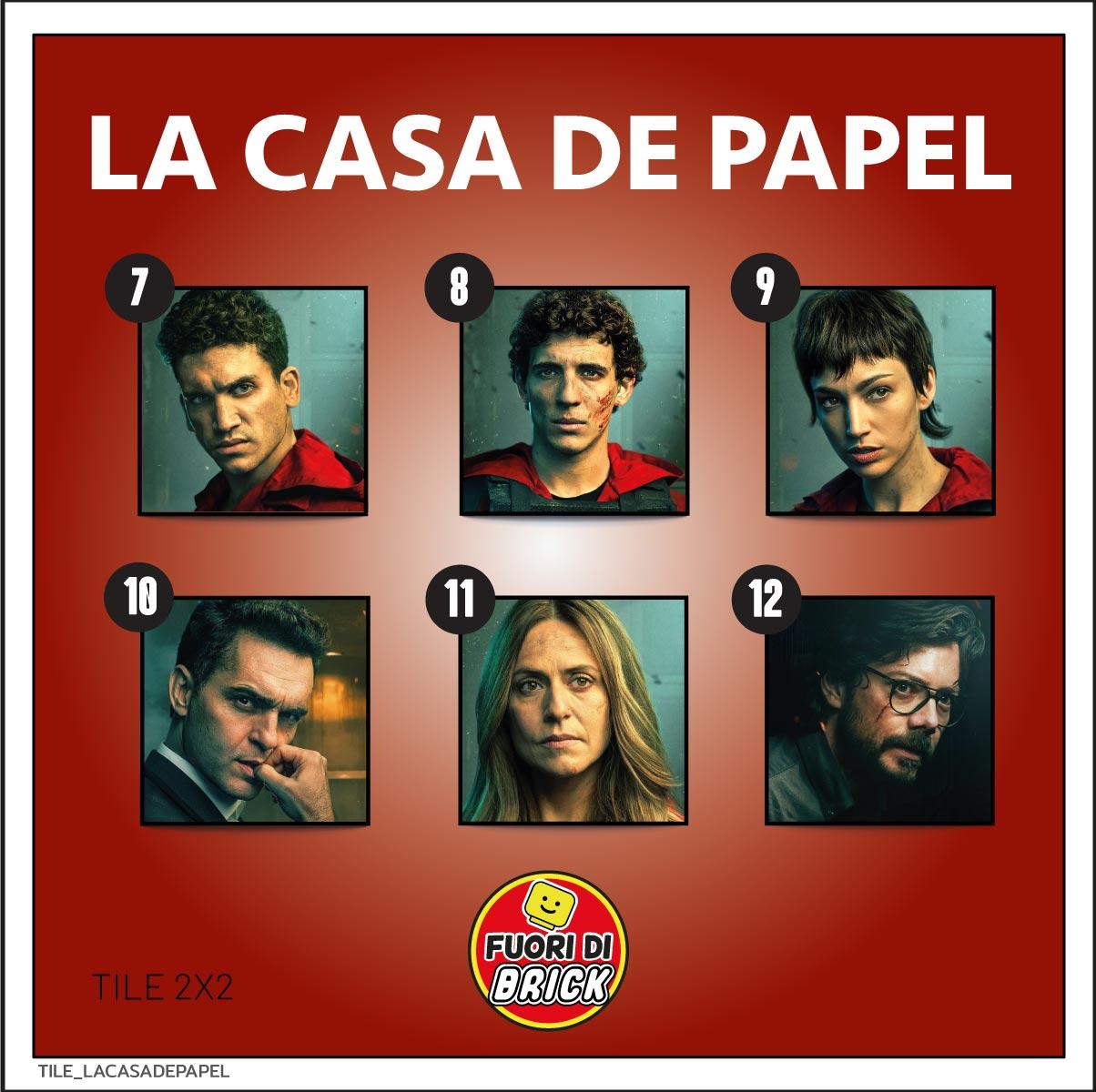 TILE 2X2_LA CASA DE PAPEL