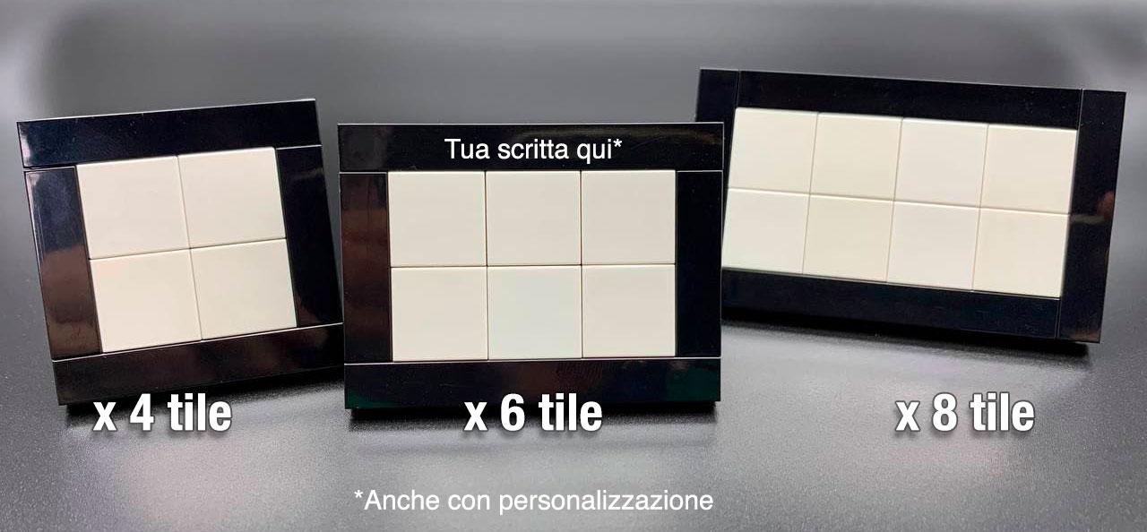 Cornici porta tile 2x2